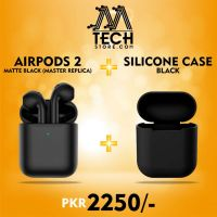 BRANDED AIRPODS GENERATION 2 (HIGH COPY) MATTE BLACK