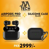 Branded Airpods Pro High Quality |GPS/Location/iCloud/Rename| 1:1 Same | MATTE BLACK