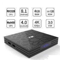 SMART BOX T9 4GB+64GB QUAD CORE 4K ULTA HD 8.1V
