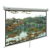 PROJECTOR SCREEN 120 INCH MANUAL 6X8 FEET 4:3MW SPEED-X (FINE QUALITY)