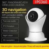 IP wirless 3D navigation IPC360 panoramic camera 1080P