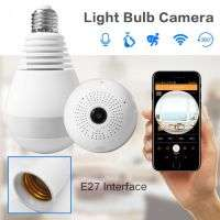 IP WIRELSS PANORAMIC BULB CAMERA 960P HD