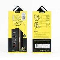 USB hub charger Remax 5 port 5V 6A RUU1