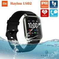 Xiaomi Haylou LS02 Global Version IP68 Waterproof Heart Rate Monitor Smart Watch