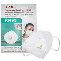 EAB KN95 WITH FILTER 5 LAYER PROTECTIVE MASK IMPORTED