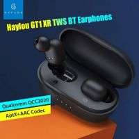 Haylou GT1-XR Bluetooth 5.0 Earbuds Headphones QCC 3020 Chip High Quality APTX Wireless Earphones Headset Touch Control - Black