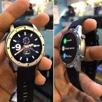 Lemfo F50 Smart Watch Bluetooth Call Custom Dial Men Heart Rate Fitness Tracker|SILVER|