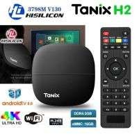 Tanix H2 Smart TV Box HiSilicon Hi3798M V130 Android 9.0 2.4GHz WiFi 4K 60fps Media Streaming Top Set Box