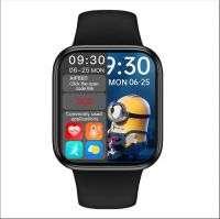 HW16 Smart Watch 44MM-INFINITY RETINA DISPLAY-CALLING-IP68|BLACK|