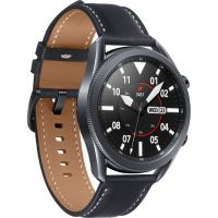W3 Smart Watch Round Dial |Metal Body-Black|