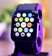 AK76 Smart Watch 44mm 1.75inch Full Touch-Screen Sport |BLACK|