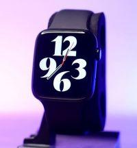 HT66 Smart Watch 44MM Apple Logo|Waterproof|Space Grey|