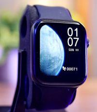 A2094 Smart Watch | 44MM-Apple Logo | Black |