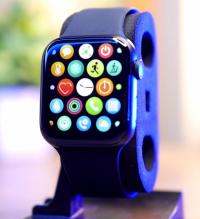 W28 Plus Smart Watch 44MM | Black |