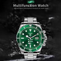 AW12 Smart Watch |Rolex Style Premium Quality Multimedia Watch|GREEN|