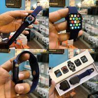 X16 Smart Watch Men Women 44mm 1.75inch Full Touch-Screen Sport |Blue|