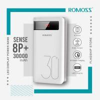 Romoss Sense 8P Plus 30000mAh 18W Fast Charge Type-C PD 3 Outputs & 3 Inputs Power Bank