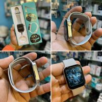 Watch 7 Smart Watch Series 7 N76|Square Design|Wireless Charging|44mm|SILVER