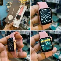 HW22 PLUS Smart Watch 44MM-INFINITY LIQUID DISPLAY-CALLING-IP68|ROSE GOLD|